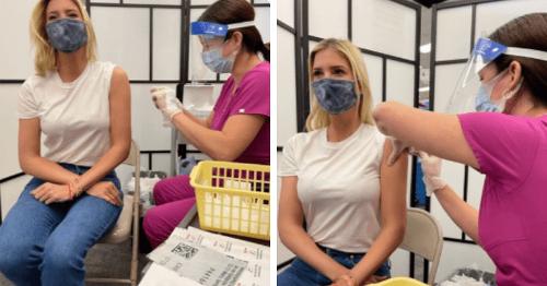 Did Ivanka Trump fake getting vaccinated? QAnon theorists claim she photoshopped inoculation photos
