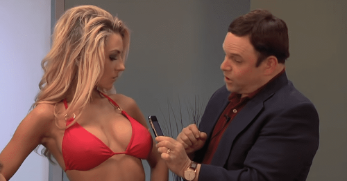 Courtney Stodden calls out Jason Alexander TV scene where he stroked breasts with phone when they were only 17