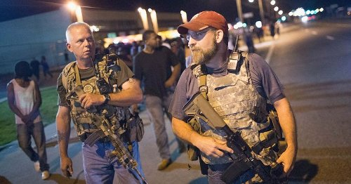 Who are the Oath Keepers? '60 Minutes' reveals 'active-duty' police officers are training right-wing militia