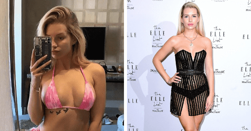 Lottie Moss to sell her panties on OnlyFans months after selling nudes for $1,400