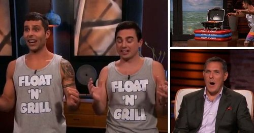 Float N Grill bags $200,000 deal from Daniel Lubetzky, but 'Shark Tank' fans wonder who will buy 'wacky product'
