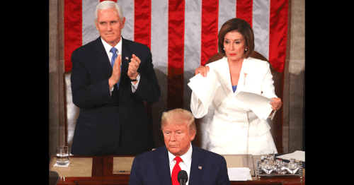Why did Nancy Pelosi tear Trump's SOTU speech? Speaker had expected some healthcare policy, claims biography