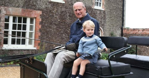 Prince Philip saw kingly qualities in 7-year-old Prince George, says insider: 'He knows what he wants'