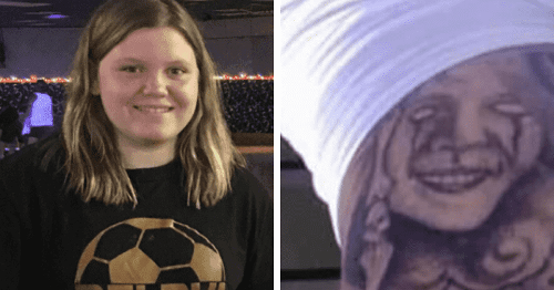 Does James Chadwell have Delphi Snapchat murder victims tattooed on arms? One looks like Libby German: Internet