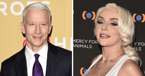 Anderson Cooper compared Courtney Stodden to a 'stripper' on CNN and called their breasts 'pumpkins'