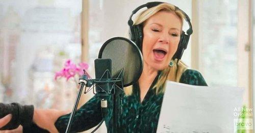 Ramona Singer sings Luann de Lesseps' Christmas song, 'RHONY' fans call it a 'nightmare'