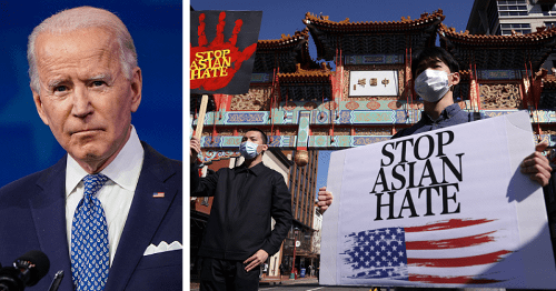 Joe Biden accused of hiring staff with links to 'anti-Asian' institutions despite stand on anti-Asian racism