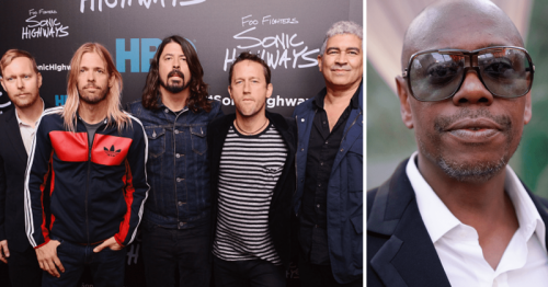 Dave Chappelle surprises Foo Fighters fans at Madison Square Garden, sings 'Creep'