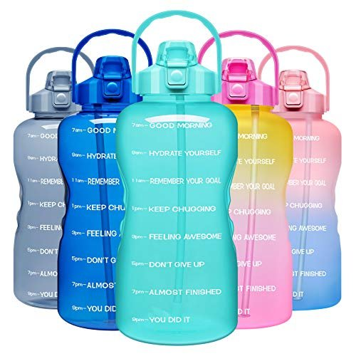 Save 15% on a one gallon motivational water bottle