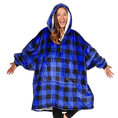 15% discount on an oversized microfiber & sherpa wearable blanket