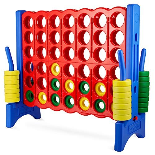 Giant 4-in-a-row connect game