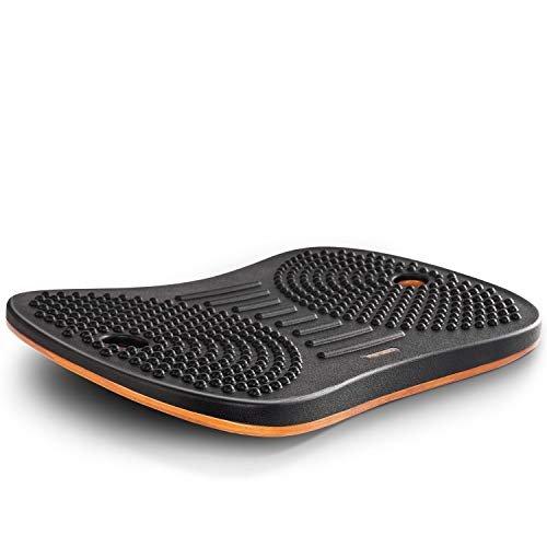 Anti-fatigue wooden balance board