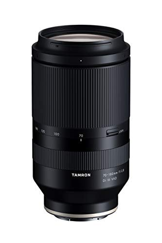 Tamron 70-180mm F/2.8 Di III VXD for Sony Full Frame/APS-C E-Mount, Black