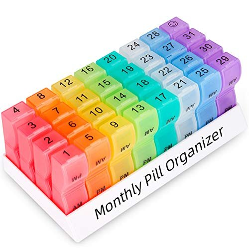 24% savings on a monthly pill organizer