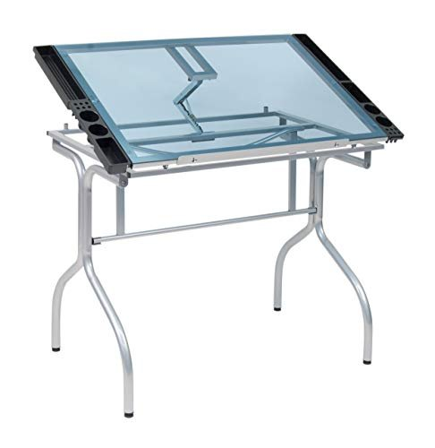 $158 off a glass-top drafting table
