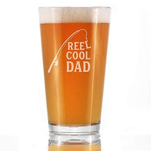 """Reel Cool Dad"" pint glass"