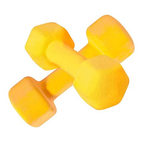 10% off a pair of dumbbell weights