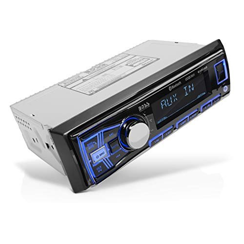 Multimedia car stereo with Bluetooth and USB port