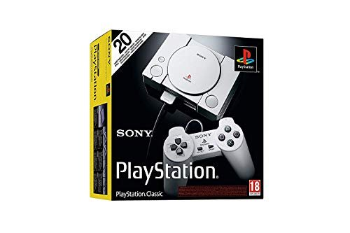 Playstation classic console with 20 games pre-installed