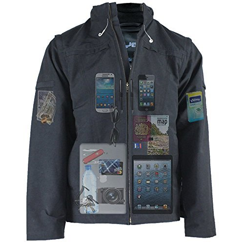 Carry everything in this jacket
