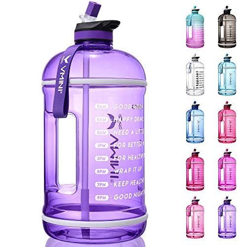 Get 15% off a motivational water bottle