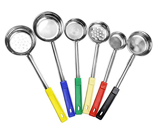 Portion control serving spoons