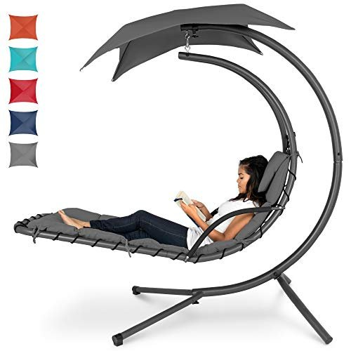 Chaise lounge swinging chair
