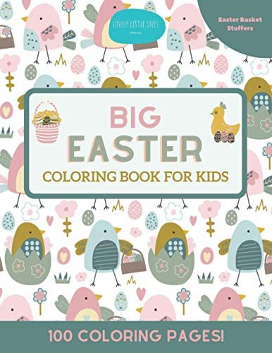 Big Easter Coloring Book for Kids