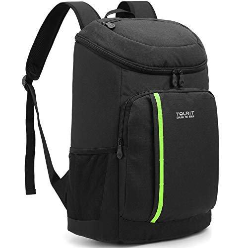 Lightweight insulated cooler backpack