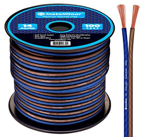 Speaker wire for clear sound transmission