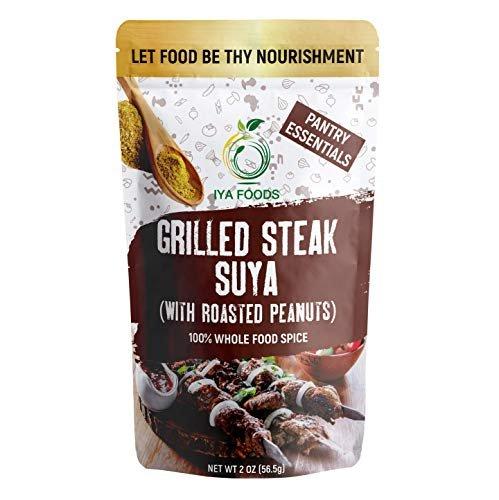 Iya Foods grilled steak seasoning