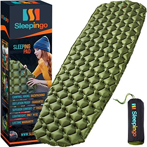 Get a better night's sleep with a sleeping pad