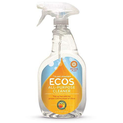 ECOS® Non-Toxic Orange All Purpose Cleaner, 22oz Bottle by Earth Friendly Products (Pack of 2)