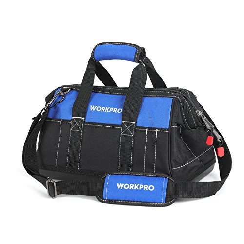 Wide mouth tool bag