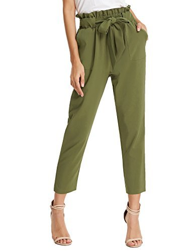 Take 6% off comfy high-waisted trousers