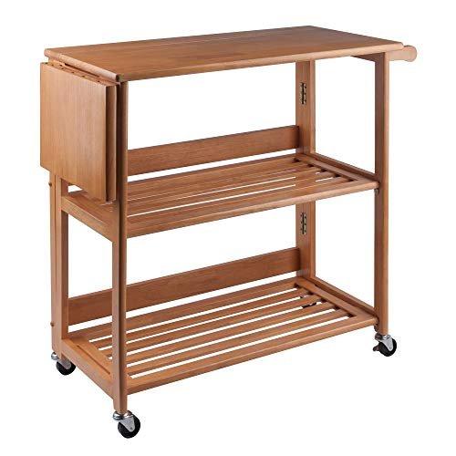 $69 off a light oak kitchen cart