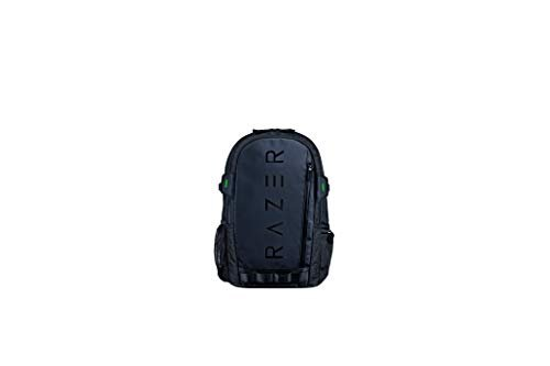Razer gaming backpack with laptop compartment and padded straps