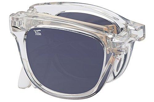 Polarized folding sunglasses