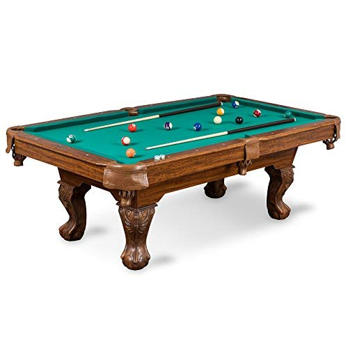 Classic billiard pool table