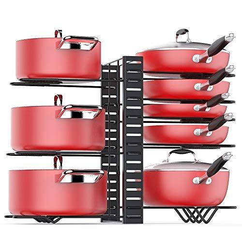 Knock 31% off a pan organizer rack