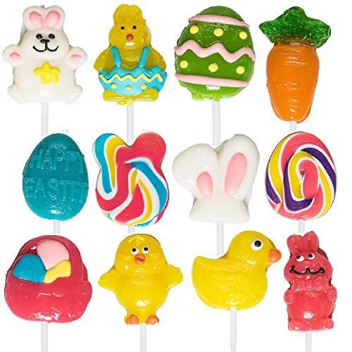Easter-themed lollipops