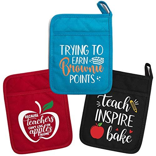 Teacher appreciation pot holders
