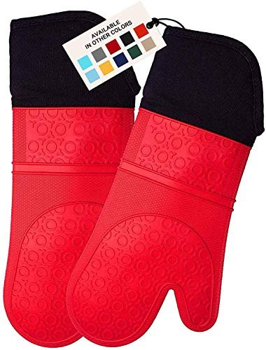 Knock 41% off an extra-long silicone oven mitt