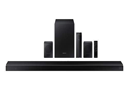 Powerful soundbar with wireless speakers