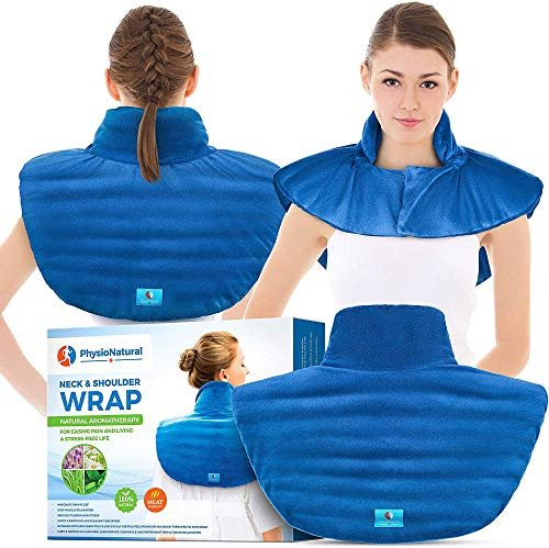 Take 28% off a microwavable neck and shoulder wrap