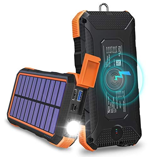 Solar charger to keep your devices functioning