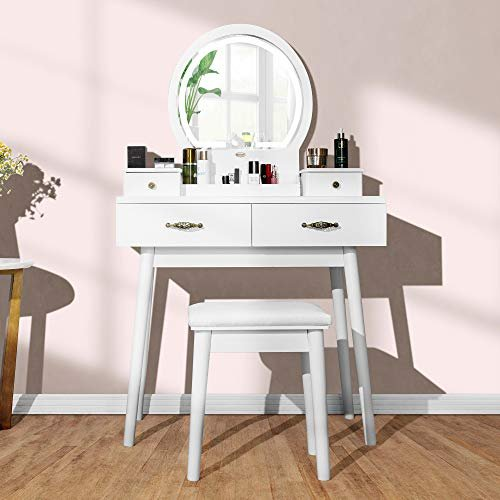 $109 off a vanity set with dimmable lighted mirror