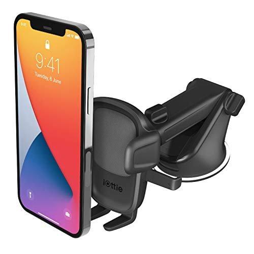 Dashboard & windshield car phone holder