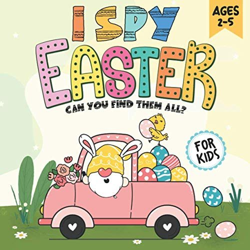 I Spy Easter Book for Kids