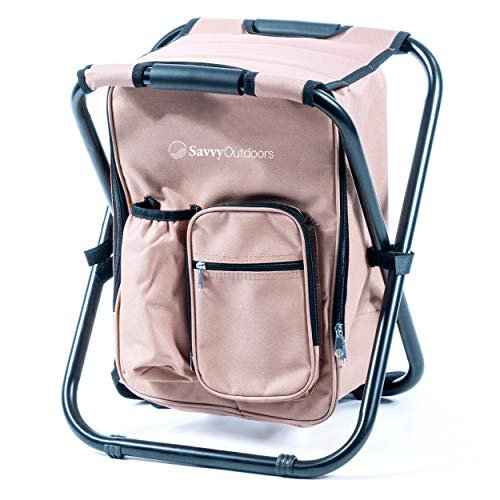 Ultralight backpack cooler chair from the One Savvy Girl Store